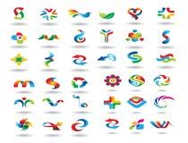 Logo design elements set Royalty Free Stock Images