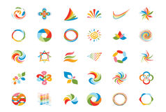 Logo design elements set illustration Stock Photography