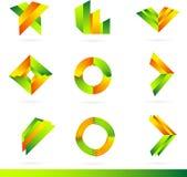 Logo design elements set Stock Images