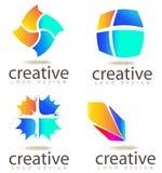 Logo design elements Stock Photo