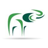 Logo design - Elephant. Logo design - Vector image of an elephant Royalty Free Stock Images