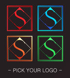 Logo design Royalty Free Stock Image