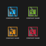 Logo design, graphic design, icon design, template elements design Royalty Free Stock Images