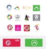 Logo design icon element set Royalty Free Stock Image