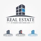Logo Design Real Estate, Business, Company 库存图片