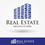 Logo Design For Real Estate, Business, Company Lizenzfreie Stockfotografie