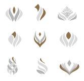 Logo design set Royalty Free Stock Image