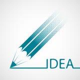 Logo design. Stock illustration. Royalty Free Stock Photos