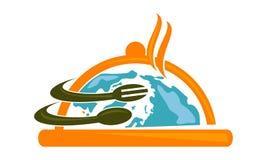 Logo Design Template de abastecimiento internacional ilustración del vector