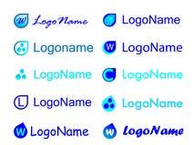 Logo Design Templates Fotos de archivo libres de regalías