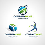 Logo Design Templates Stock Afbeeldingen
