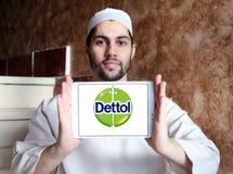 Dettol brand logo Stock Photo