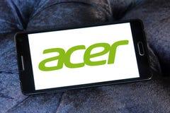 Logo di Acer Fotografie Stock