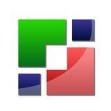 logo di affari 3d Fotografia Stock Libera da Diritti