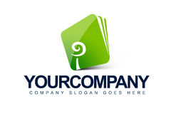 Logo di affari della cartella Fotografia Stock Libera da Diritti