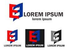 Logo di affari della società Fotografie Stock Libere da Diritti