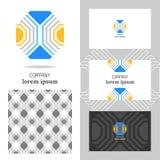 Logo di affari per la società Elemento del poligono di vettore per pubblicare Fotografia Stock Libera da Diritti