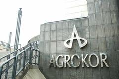 Logo di Agrokor Immagine Stock