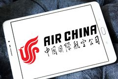 Logo di Air China immagini stock libere da diritti