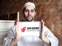 Logo di Air China fotografia stock
