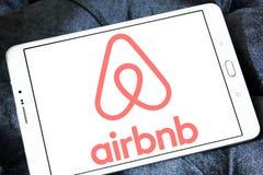 Logo di Airbnb immagini stock
