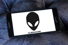 Logo di Alienware Fotografia Stock Libera da Diritti