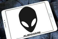 Logo di Alienware Fotografie Stock