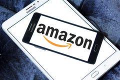 Logo di Amazon Immagini Stock Libere da Diritti