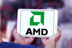 Logo di Amd Immagine Stock Libera da Diritti