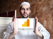 Logo di analisi dei dati di Google Immagine Stock