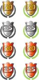 Logo di Anneversary Immagini Stock