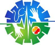 Logo di Assistenza sanitaria statale Immagine Stock