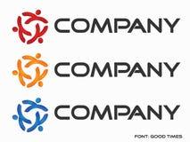Logo di astrazione (società) royalty illustrazione gratis
