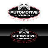 Logo di Automotive Company - illustrazione di vettore Fotografie Stock Libere da Diritti