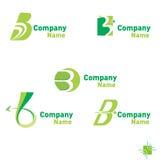 Logo di B Fotografia Stock
