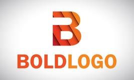 Logo di B Fotografie Stock Libere da Diritti