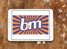Logo di B&M European Retail Value Immagine Stock