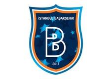 Logo di Başakşehir FK dello stanbul del ‡ di IÌ illustrazione di stock