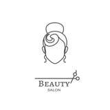 Logo di bellezza Fotografie Stock Libere da Diritti
