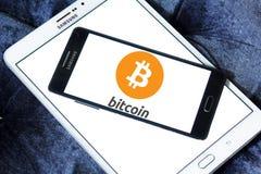 Logo di Bitcoin Immagine Stock Libera da Diritti