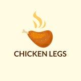 Logo di Chiken, illustrazione di vettore Fotografia Stock Libera da Diritti