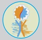 Logo di Clima royalty illustrazione gratis