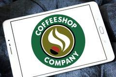 Logo di Coffeeshop Company Fotografia Stock