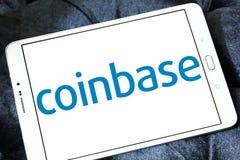 Logo di Coinbase Immagini Stock