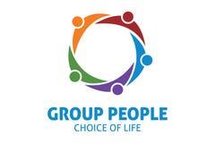 Logo di colore del gruppo Fotografia Stock