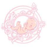 Logo di cura del bambino Immagine Stock