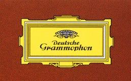 Logo di Deutsche Grammophon Fotografia Stock