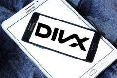 Logo di Divx Immagine Stock