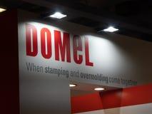 Logo di DOMEL Fotografie Stock Libere da Diritti
