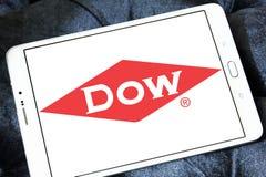 Logo di Dow Chemical Company immagini stock libere da diritti